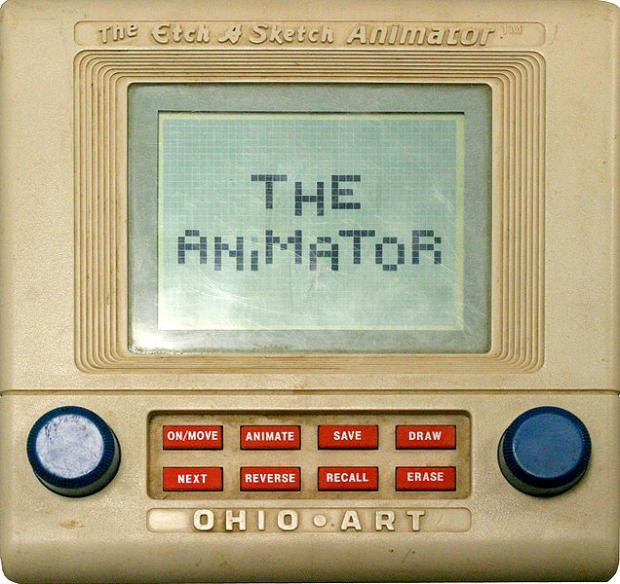 Etch-a-Sketch Animator