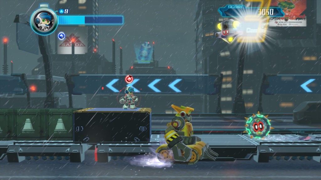 Mighty No 9 gameplay